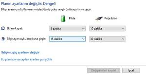 windows 10 uyku modu3