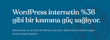 wordpress bedava