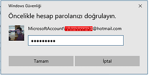 windows 10 pin kodu kaldırma3